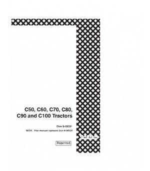 CASE IH C50 C60 C70 C80 C90 C100 TRACTOR OPERATORS MANUAL