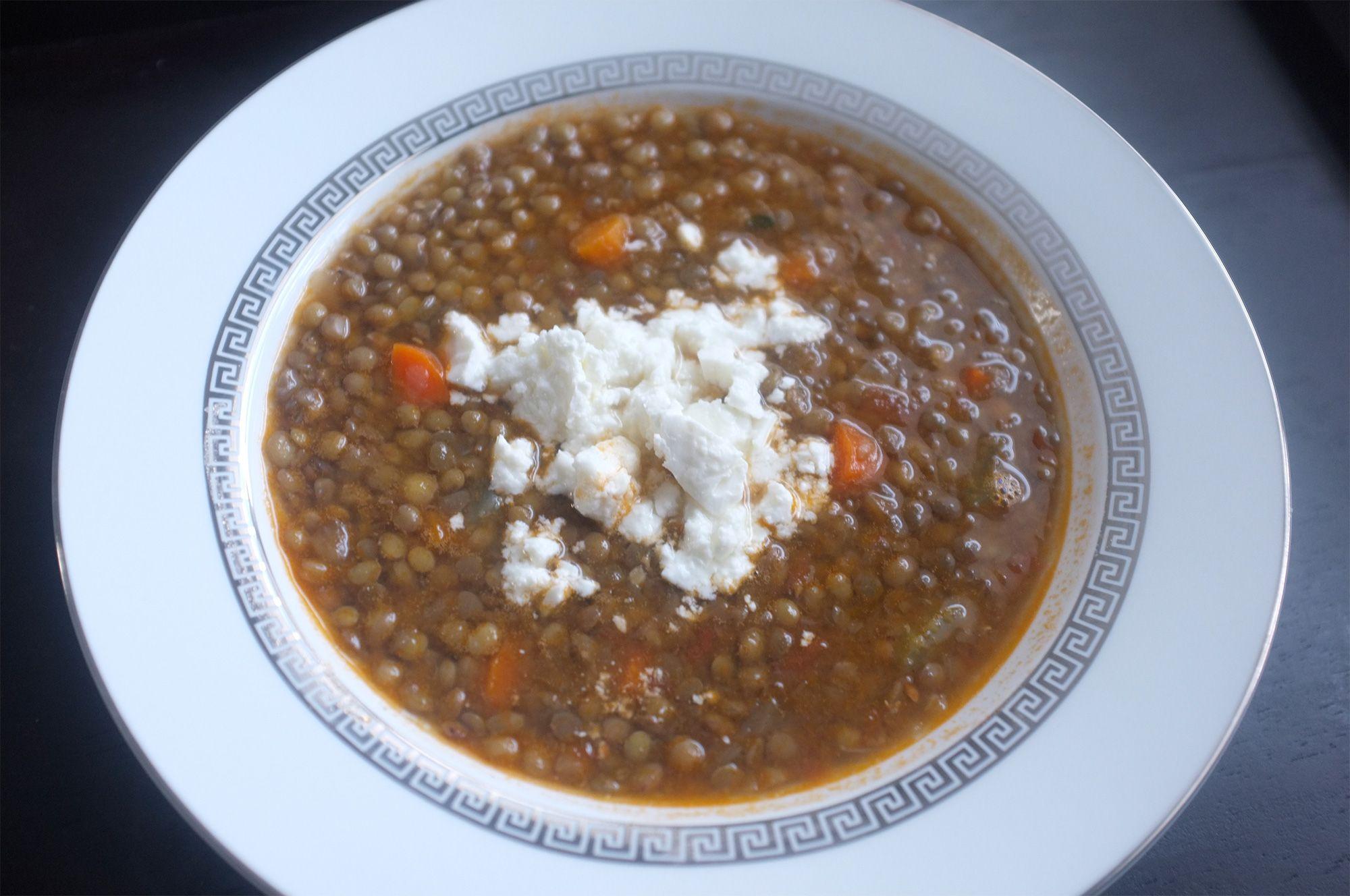 Zoes Kitchen Lentil Soup
