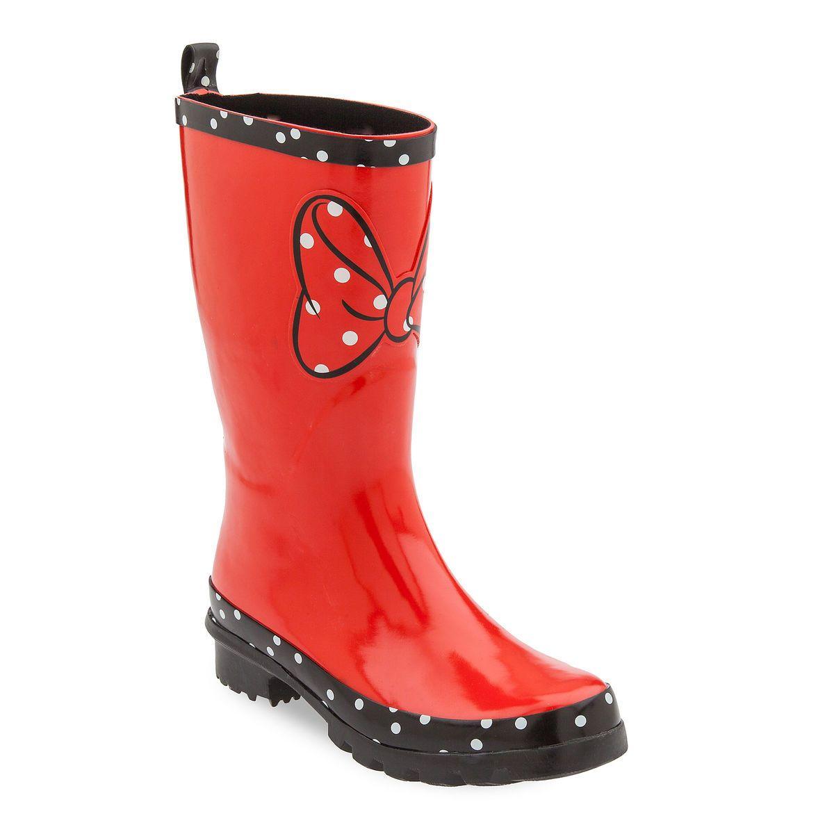 Minnie Mouse Rainboots for Women | Rain