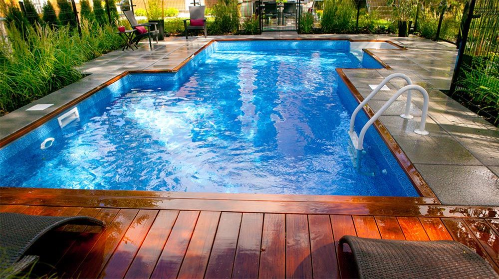 r alisations plani paysage piscine cloture pinterest piscines paysages et patios. Black Bedroom Furniture Sets. Home Design Ideas