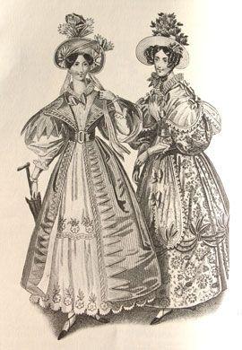 d28d10f01986 Abiti Antichi - Storia della Moda 1796-1839