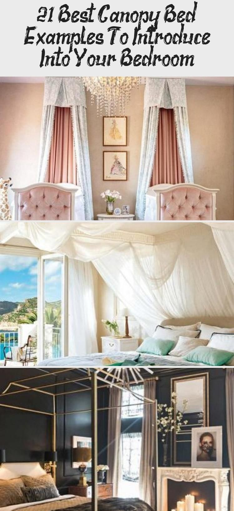 Boho Bedroom Design With Rustic Bed #plants ★ Best canopy ... on Modern Boho Bed Frame  id=16769