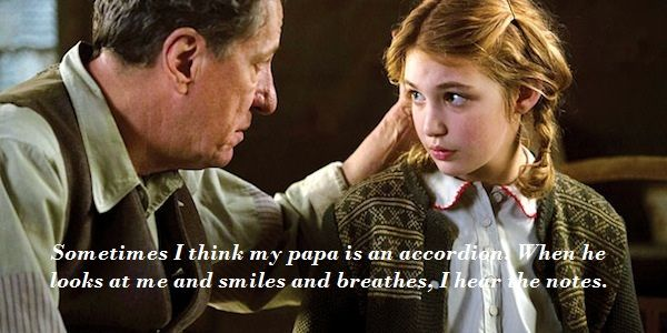 this quote by liesel shows just how important hans and his  the book theif characters 5 reasons to watch the book thief