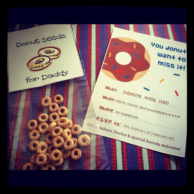Donuts for Dads   Dad crafts, Fathers day crafts, Dad day