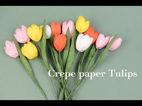 How to make paper tulip flower hng dn lm hoa tulip giy nhn how to make paper tulip flower hng dn lm hoa tulip giy nhn youtube mightylinksfo