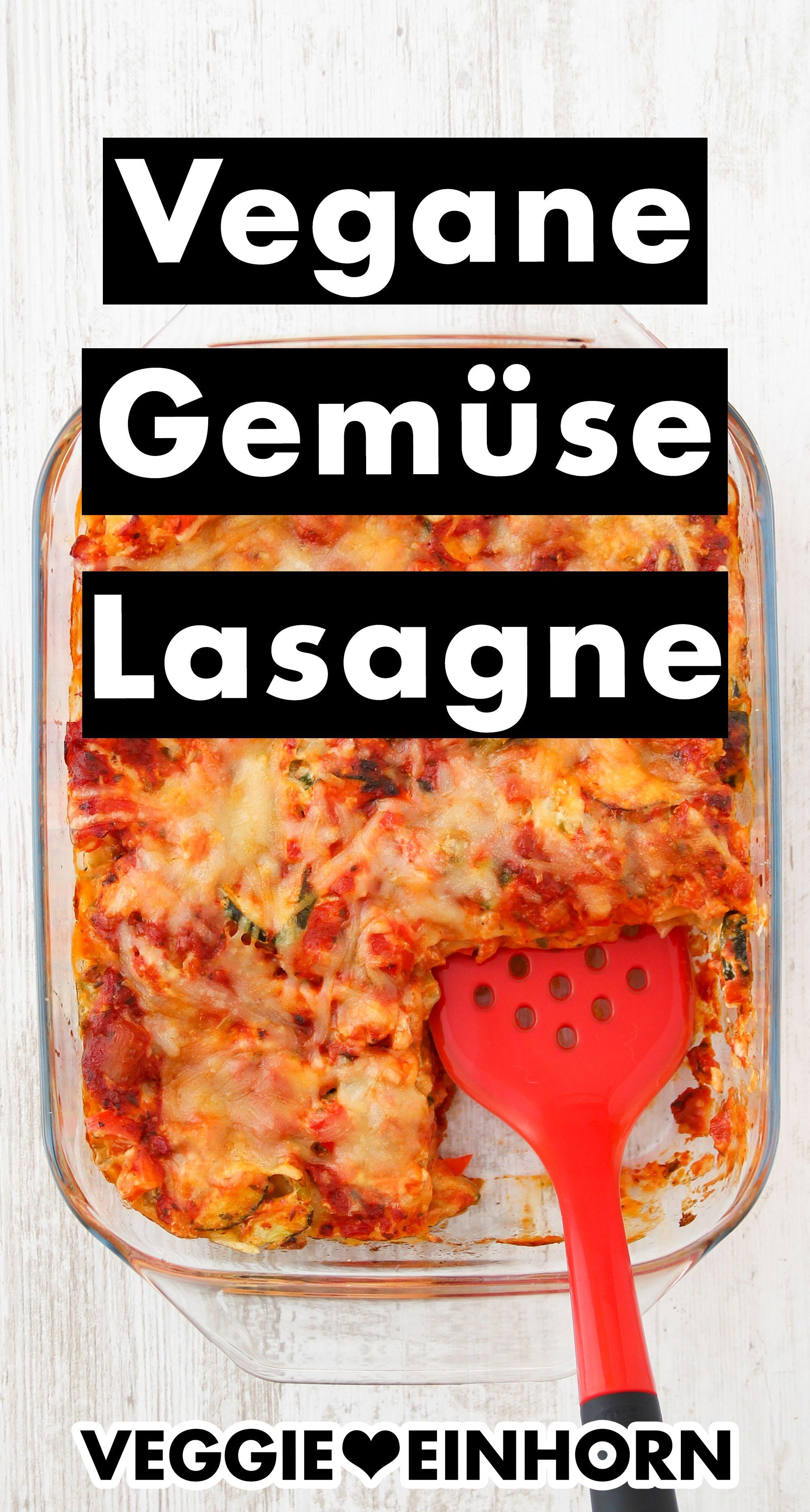 Vegane Gemüse Lasagne | Leckere Gemüselasagne mit veganer Creme fraiche und veganem Käse