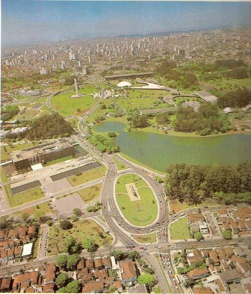 Parque do Ibirapuera em 1970 | Cidade de são paulo, São paulo, Fotos antigas