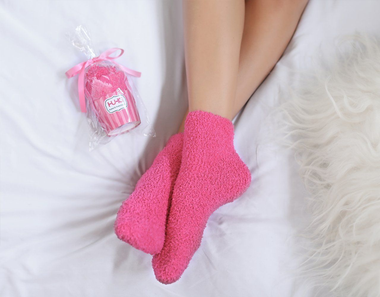 Sisters Love Socks For Womens Birthday Funny Gifts For Her