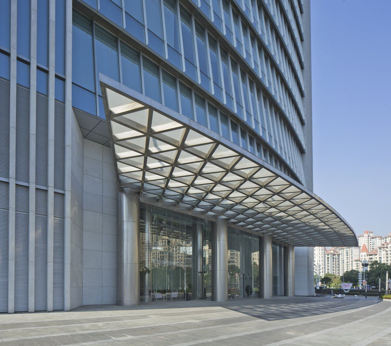 Soochow securities headquarters canopy pinterest for Building canopy design