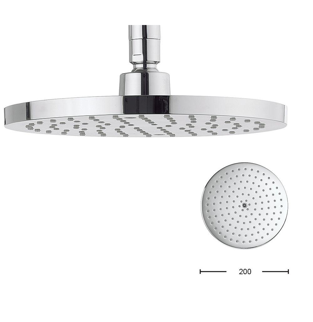Central 200mm in Round | Luxury bathrooms, bathroom design ideas ...