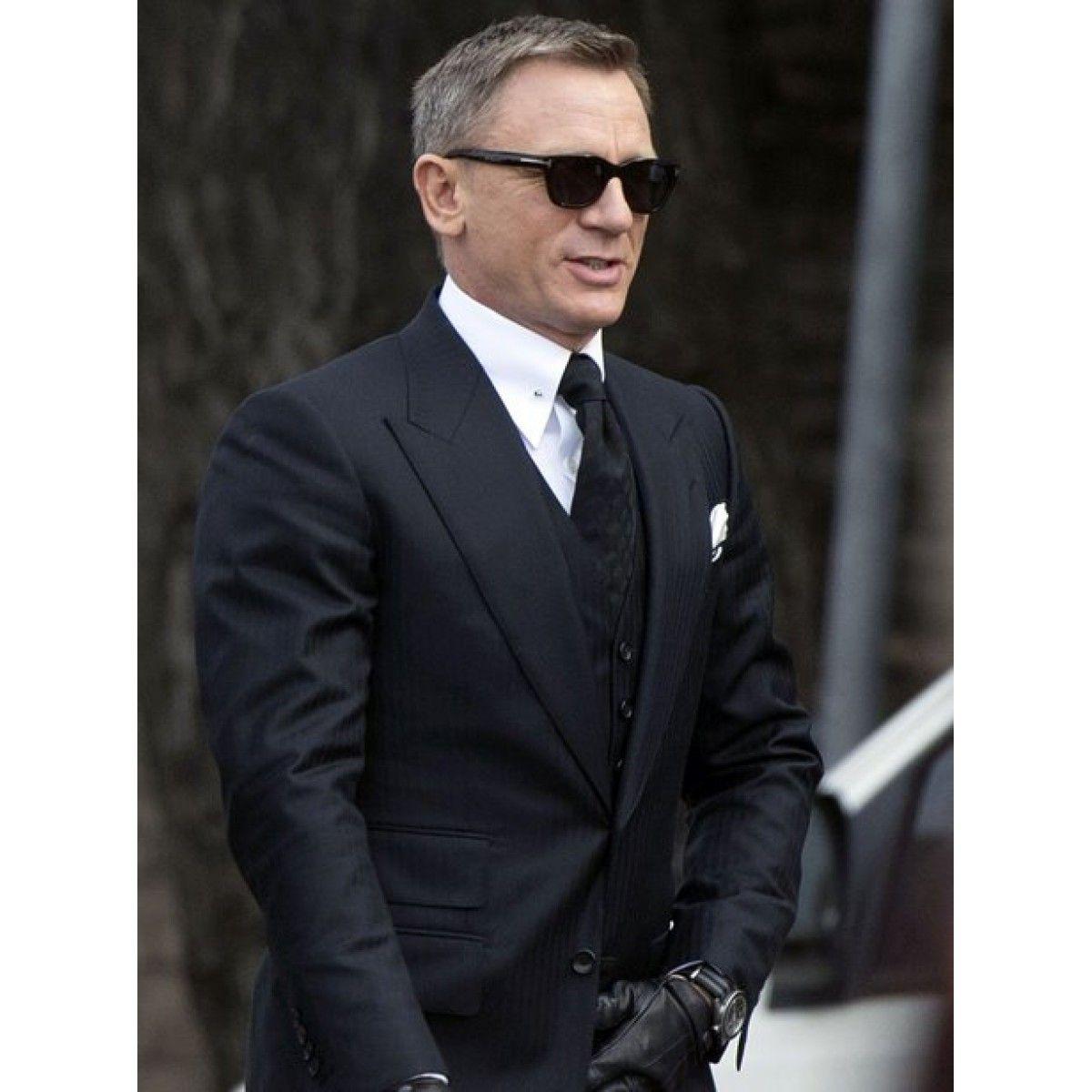 James Bond Spectre Herringbone Three Piece Suit