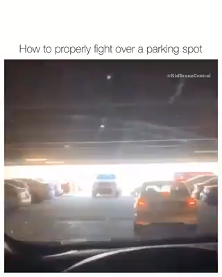 Best Funny Videos How to Properly Fight Over a Parking Space Save 20 % off Our Entire eBay Store 10