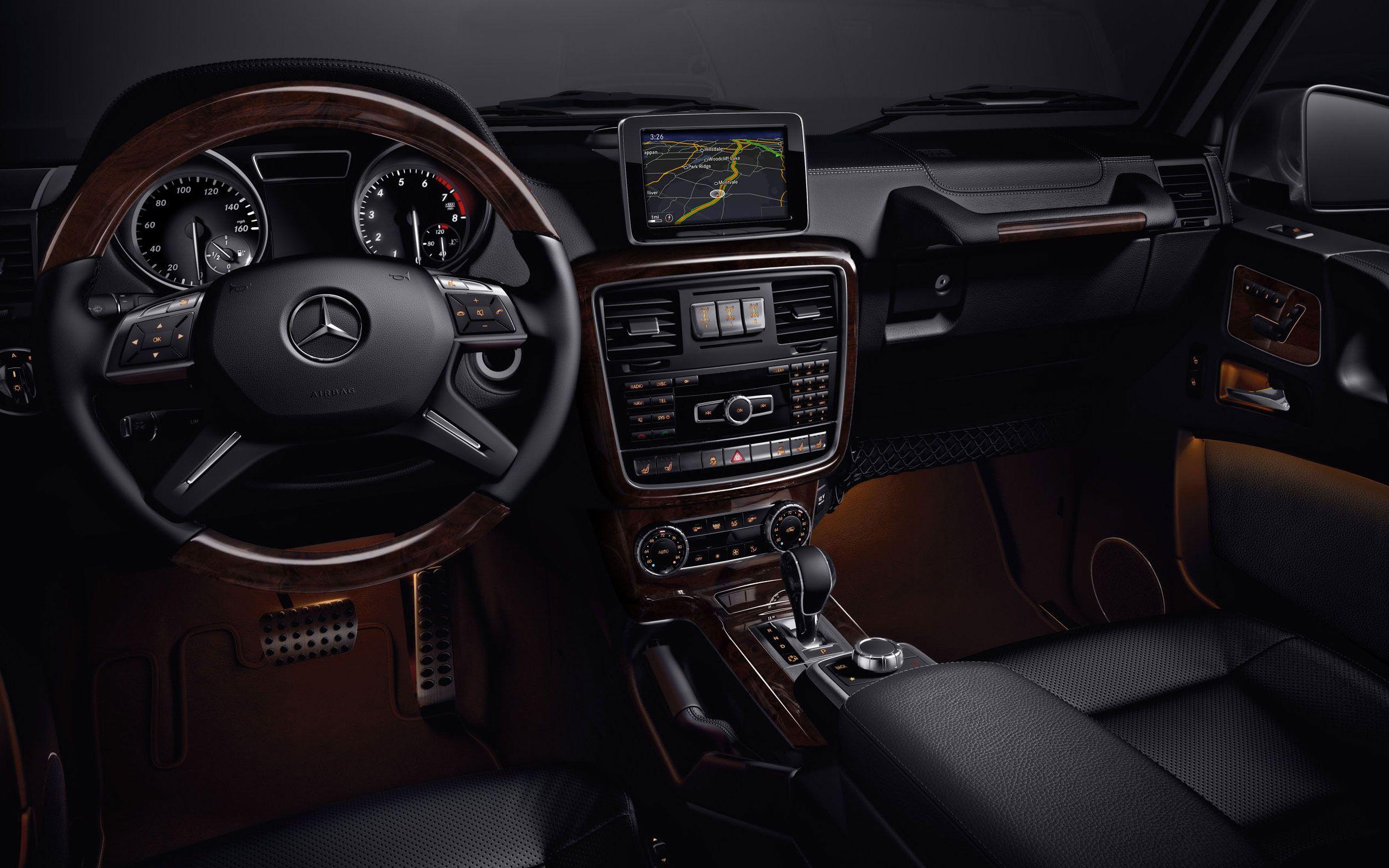 2014 Mercedes Benz G550 G Class Suv Car Interior Dashboard