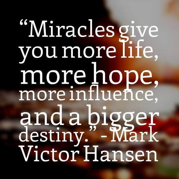 #miracles #destiny #quotes
