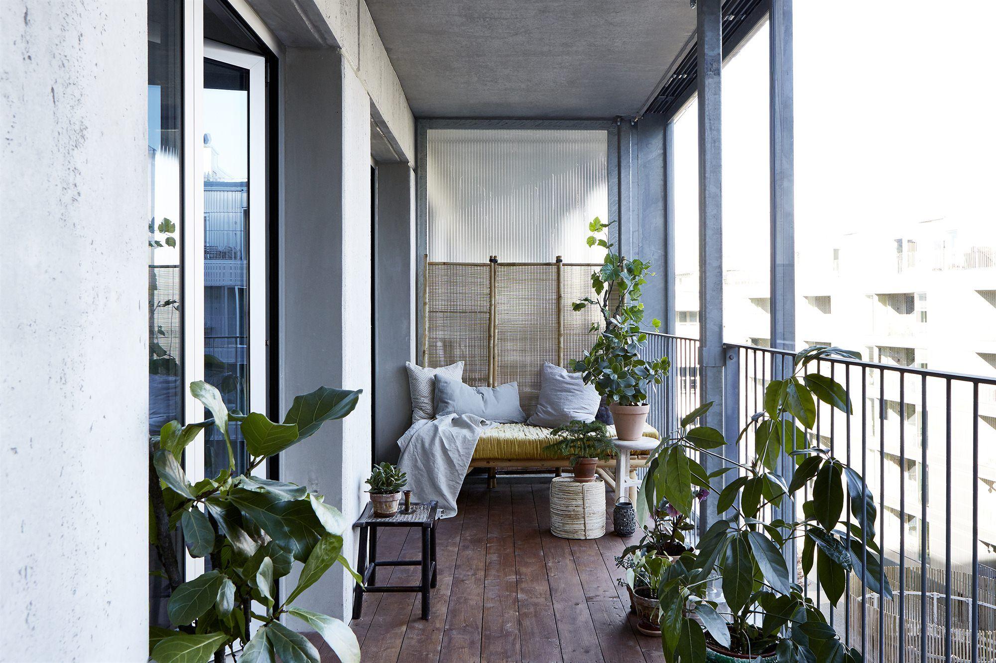 Bohemian Balkon Inrichting : Balkon met een knus industrieel tintje interior pinterest