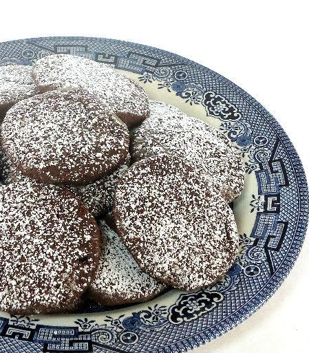 Uma mordida perfeita: vienenses cookies Pimenta Chocolate