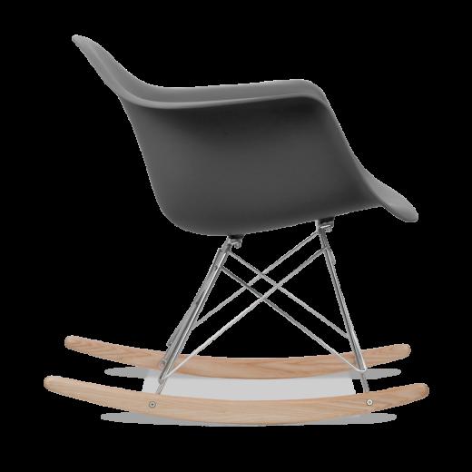 dark grey eames style rar rocker chair rocking chairs cult uk