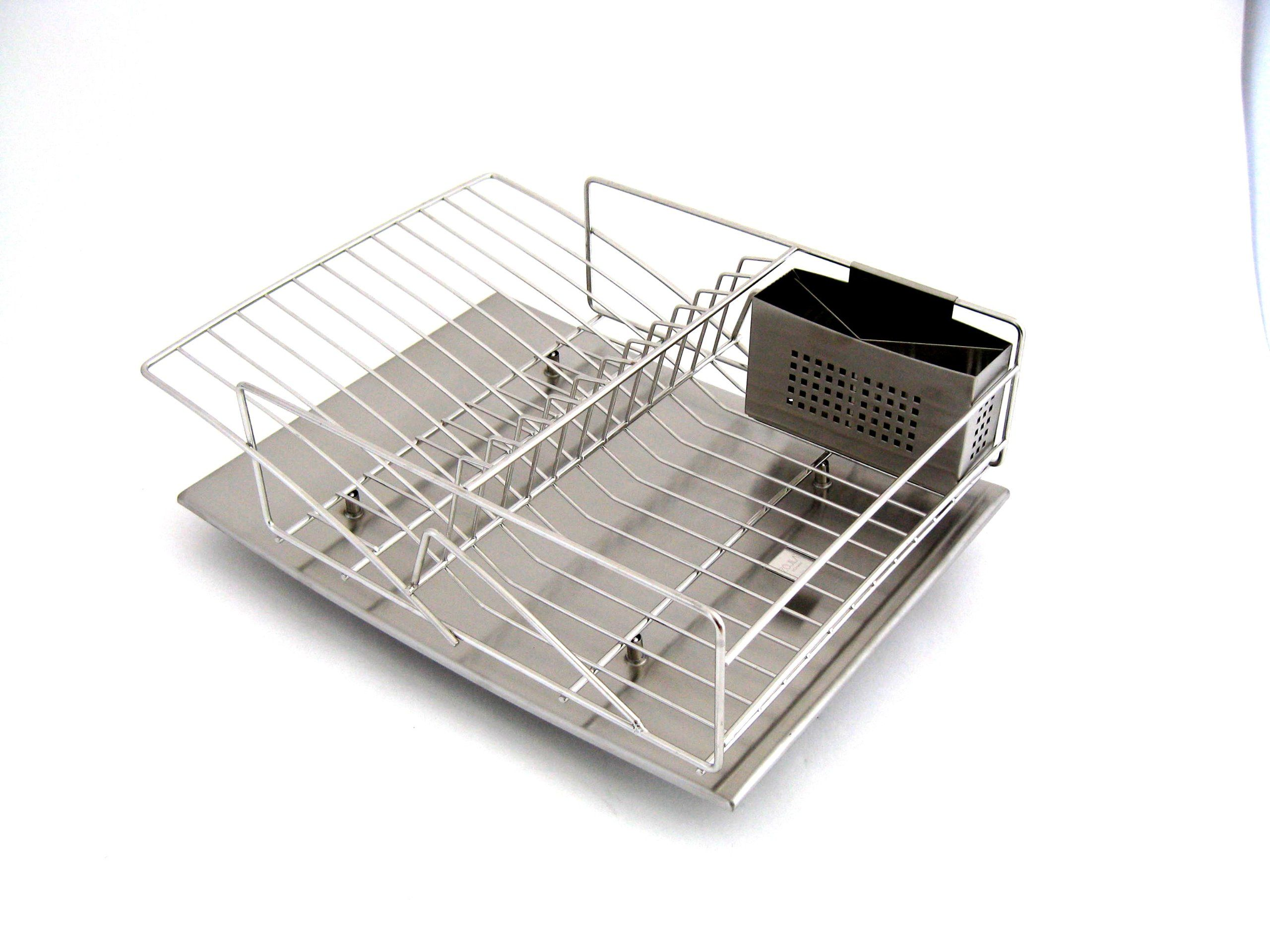 Sabatier Dish Rack Classy Amazon  Zojila Rohan All Stainless Steel Dish Rack Drain Board Design Ideas