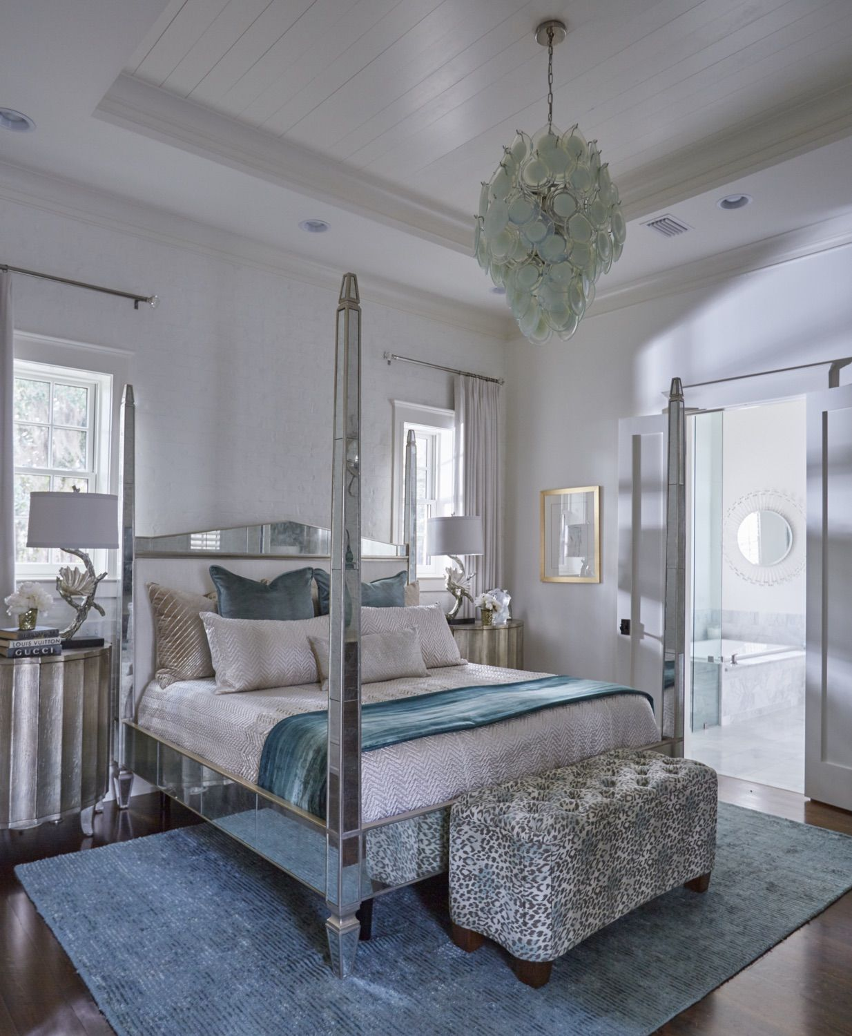 Old World Chic Relaxing Master Bedroom Coastal Bedrooms Master