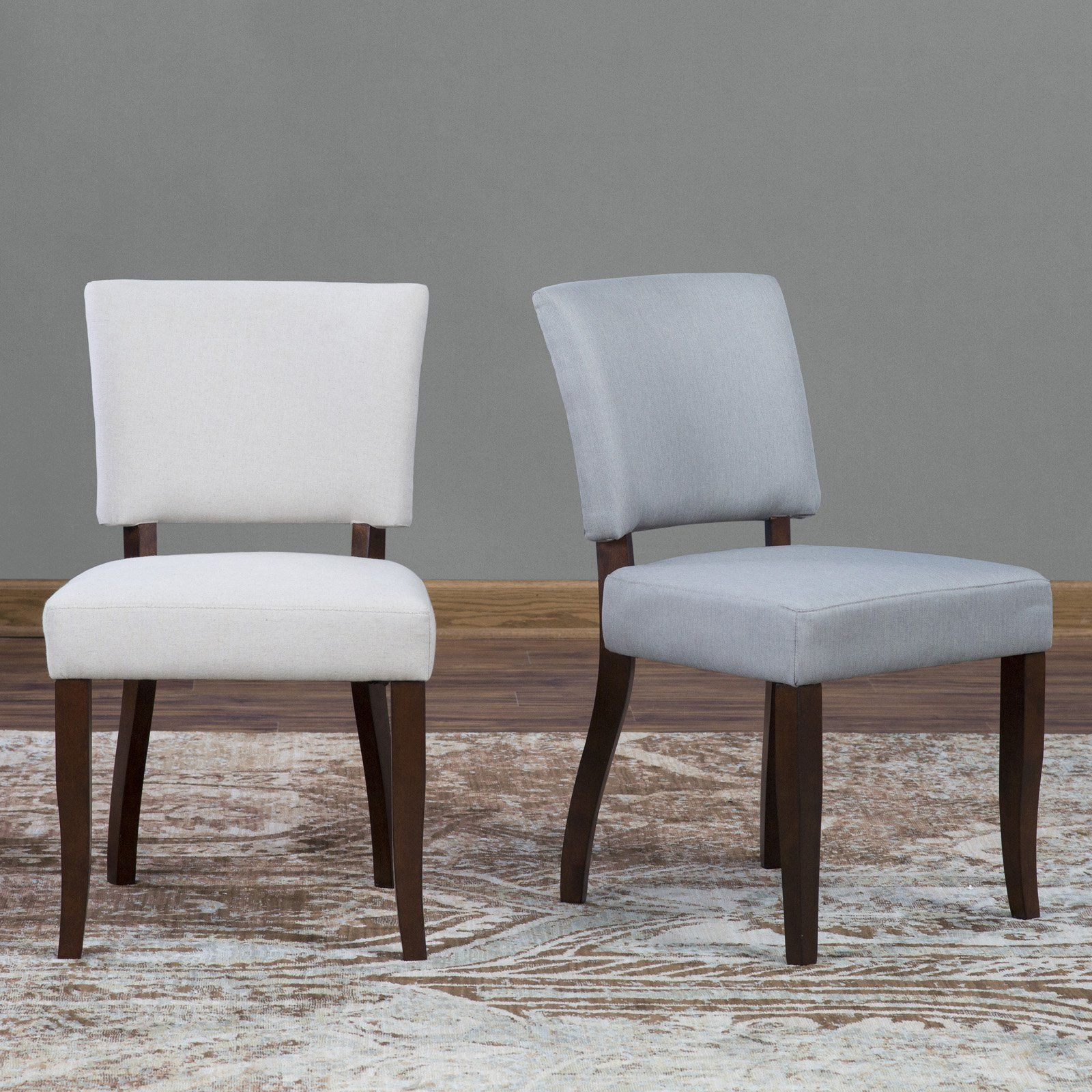 Belham Living Paige Open Back Dining Chair Set Of From - Crate and barrel leather dining chair