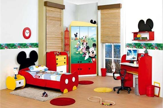 Mickey Mouse Clubhouse Bedroom Decor For Kids Bedroom