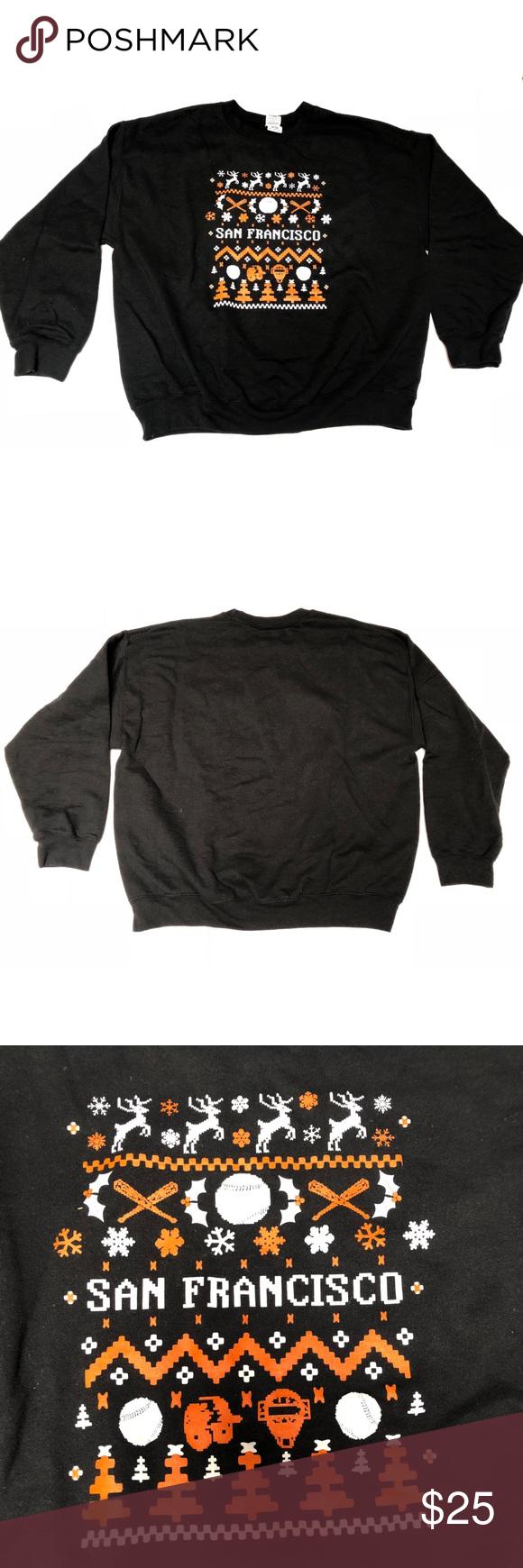 Predownload: San Francisco Giants Christmas Sweater Size Xl Sweater Sizes Sweaters Christmas Sweaters [ 1740 x 580 Pixel ]