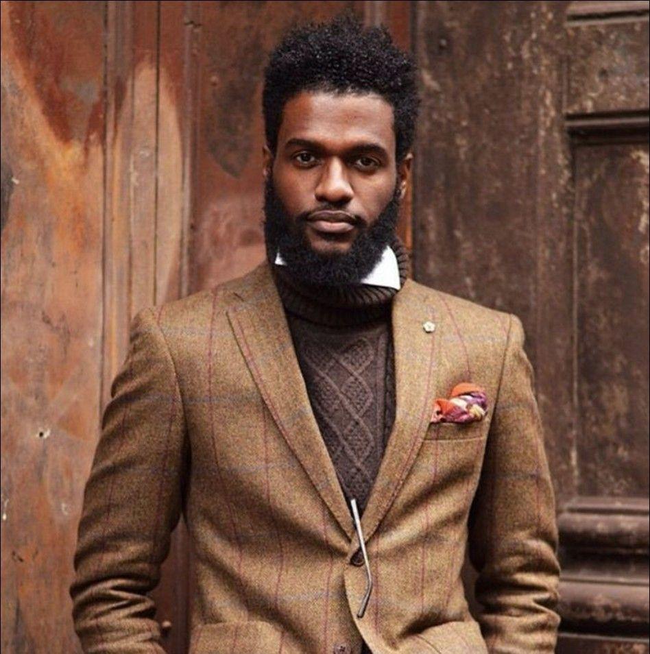 Beards & Black Men Hairstyles 2017 //  #2017 #Beards #Black #Hairstyles