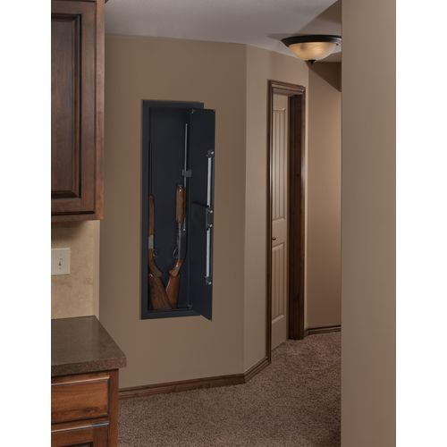 Stack On 2 Gun Long Gun In Wall Safe Black Safes Cabinets And