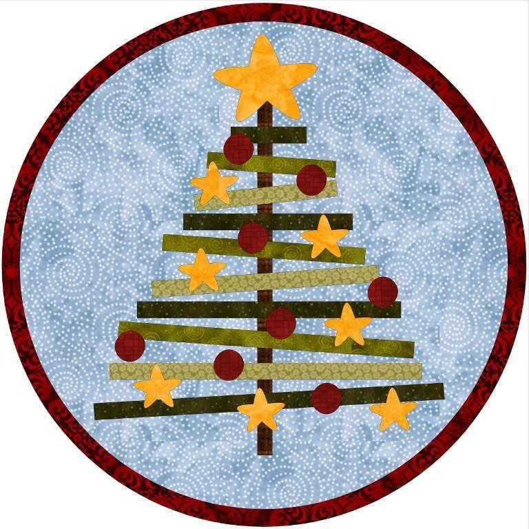 52f0edf1c3 7) Name: 'Quilting : Christmas Mug Rug | patchwork | Manualidades ...