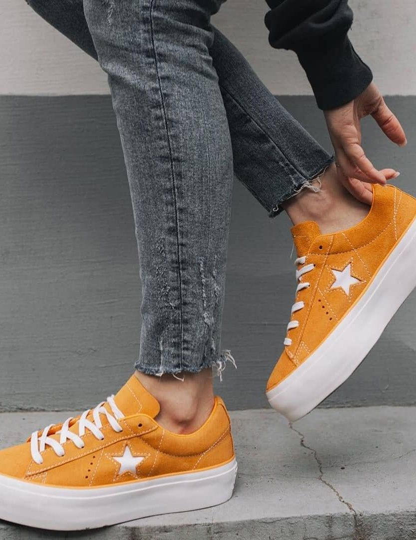 Baskets oranges : 10 paires de sneakers vitaminées