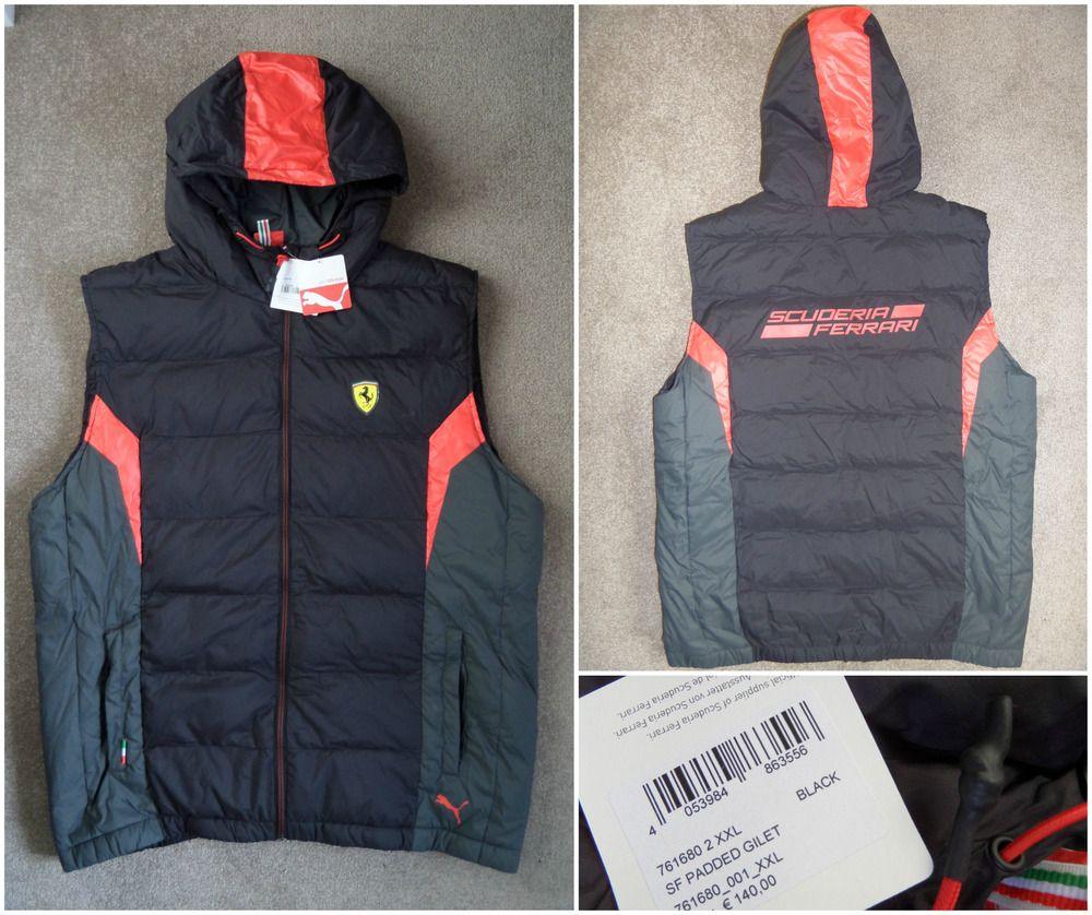 db15bbd7c1605 Puma ferrari scuderia gilet bodywarmer jacket coat motorsport ...