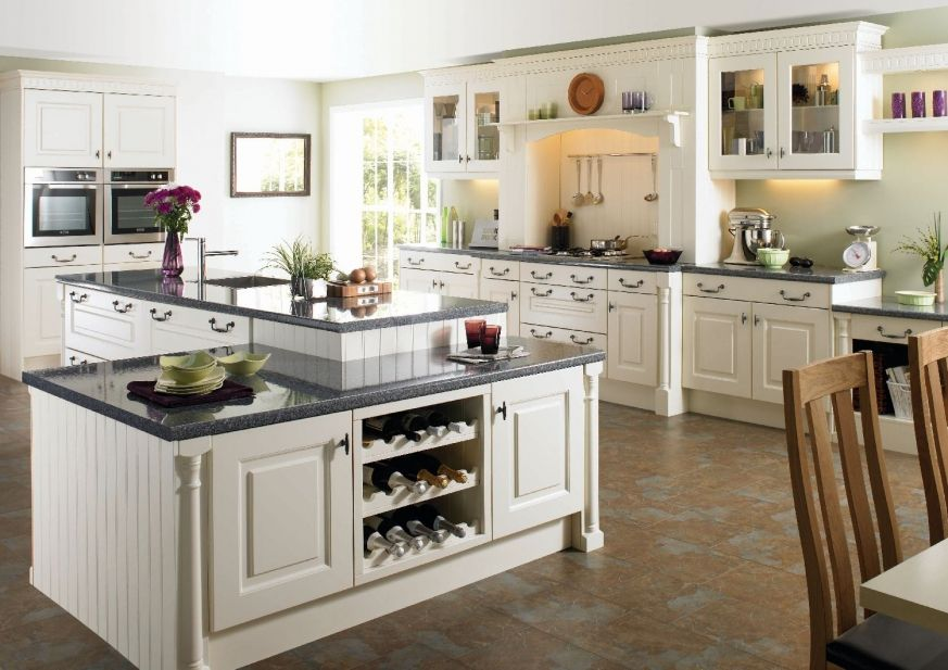 Traditional kitchens can have all the storage and design features of ...