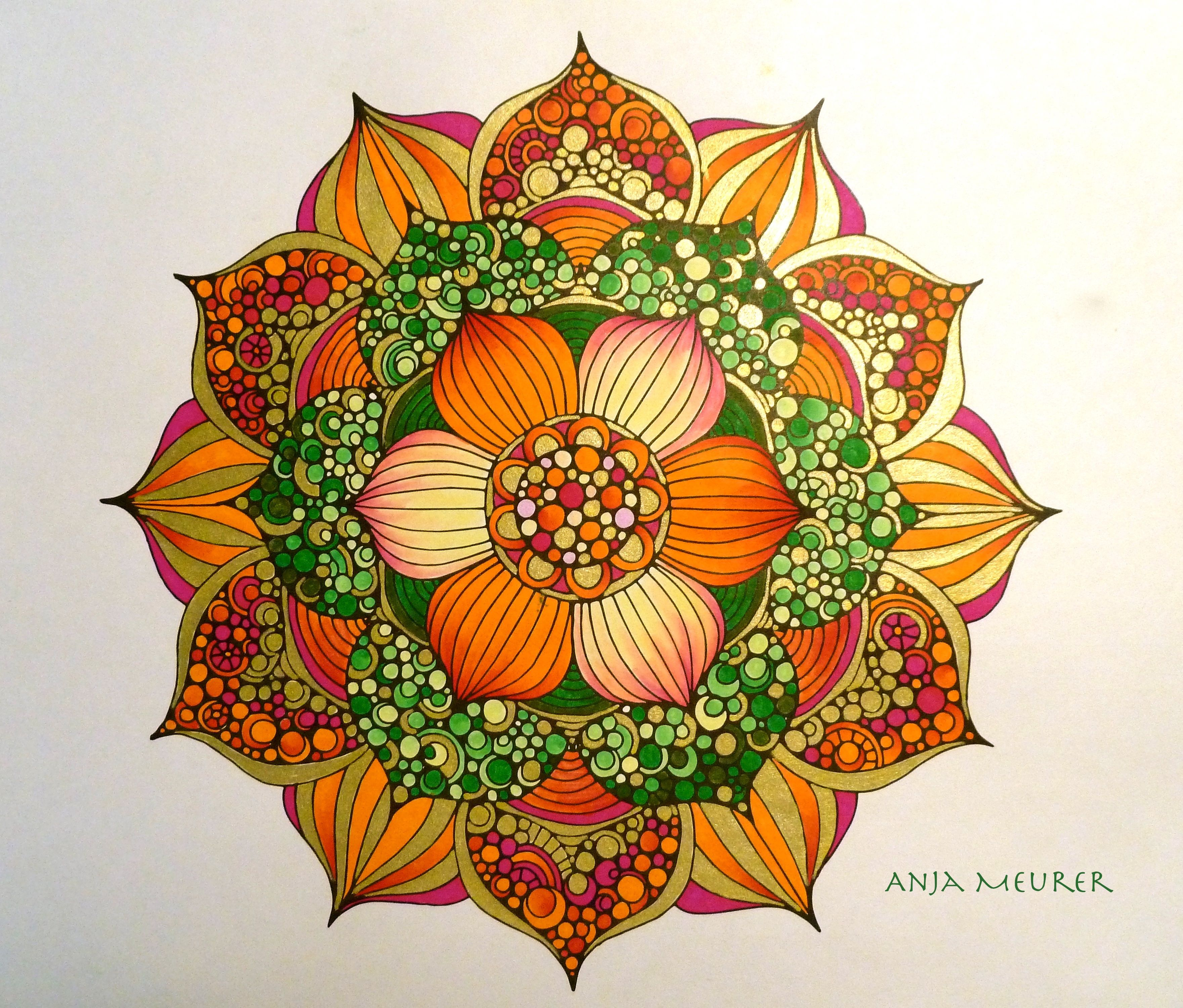 Jüdische Teppiche Picture From Creative Coloring Mandalas By Valentina