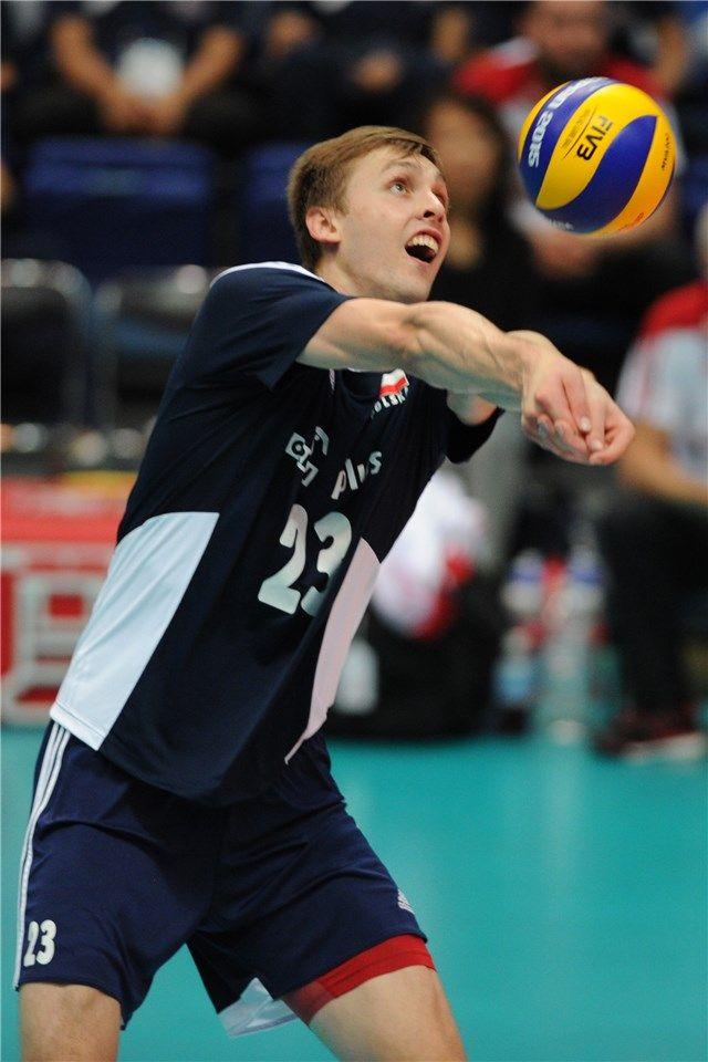 Mateusz Bieniek - środkowy  Puchar Świata w Piłce Siatkowej Mężczyzn 2015