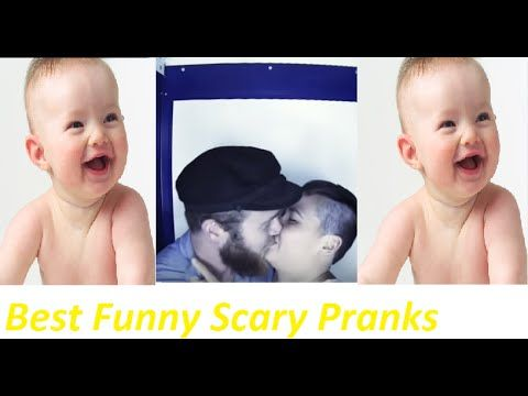 Best Funny Scary Pranks 2015