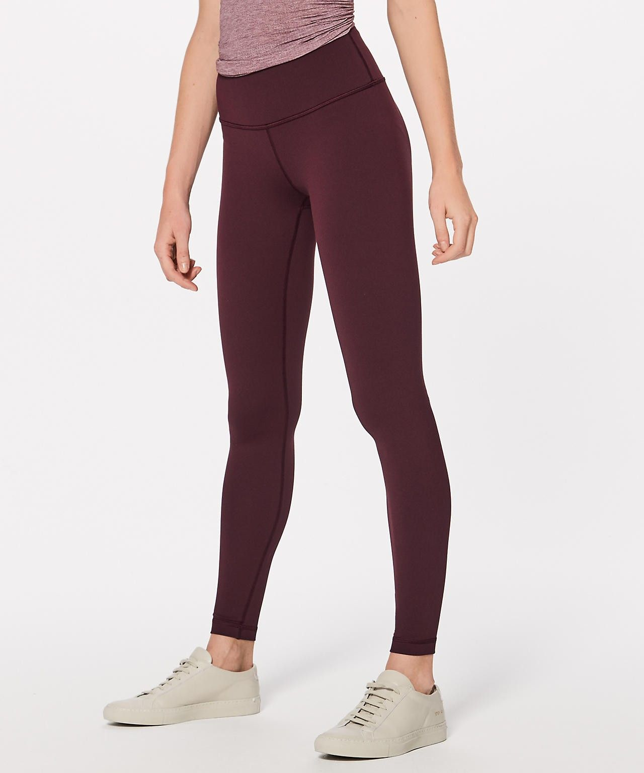 e6d7cba222 These Lululemon leggings maroon + olive green in size 4-- THERE IS A  LULULEMON IN DOWNTOWN LANCASTER ;)
