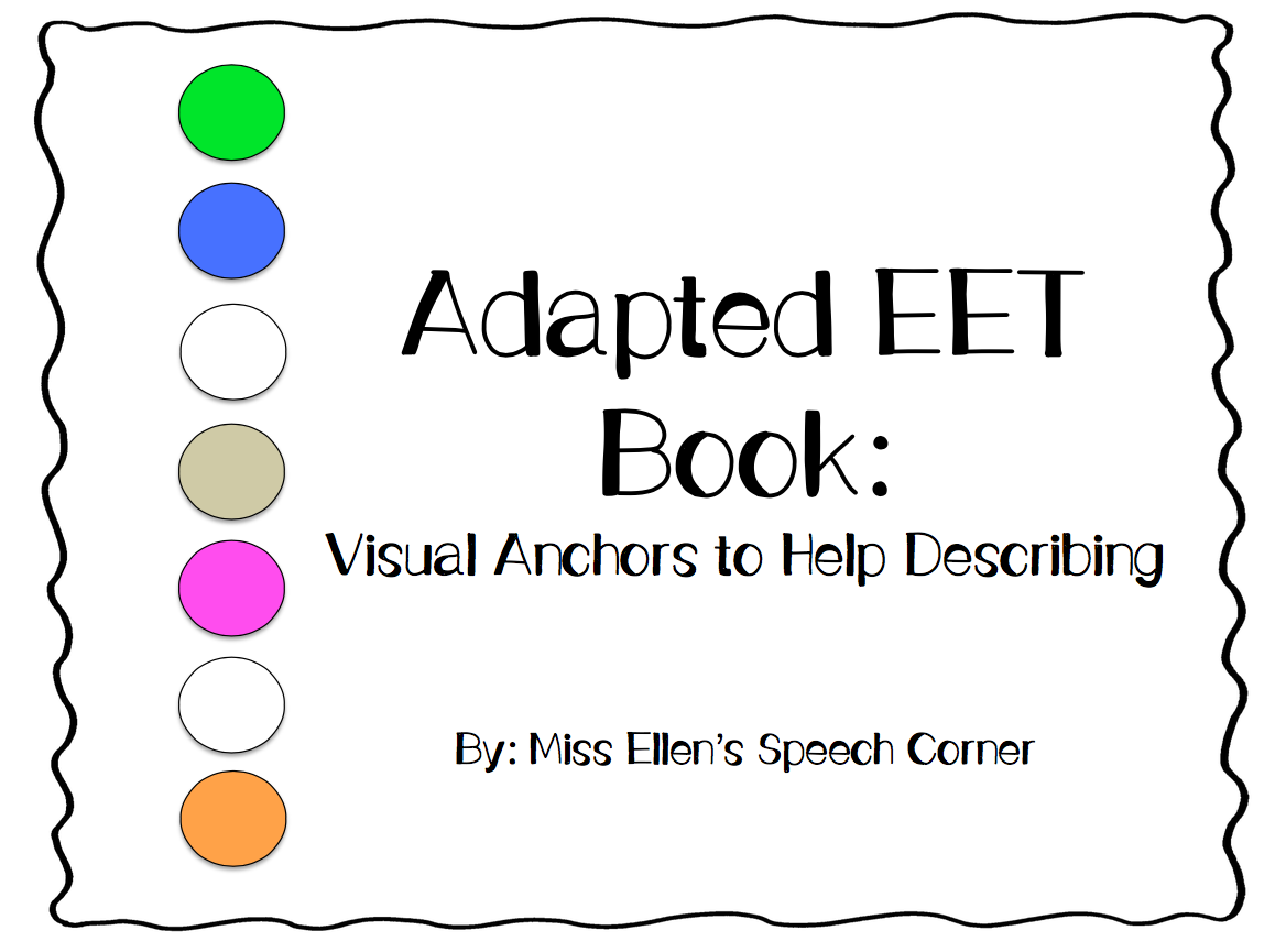 Expanding Expressions Tool Eet In Speech Therapy