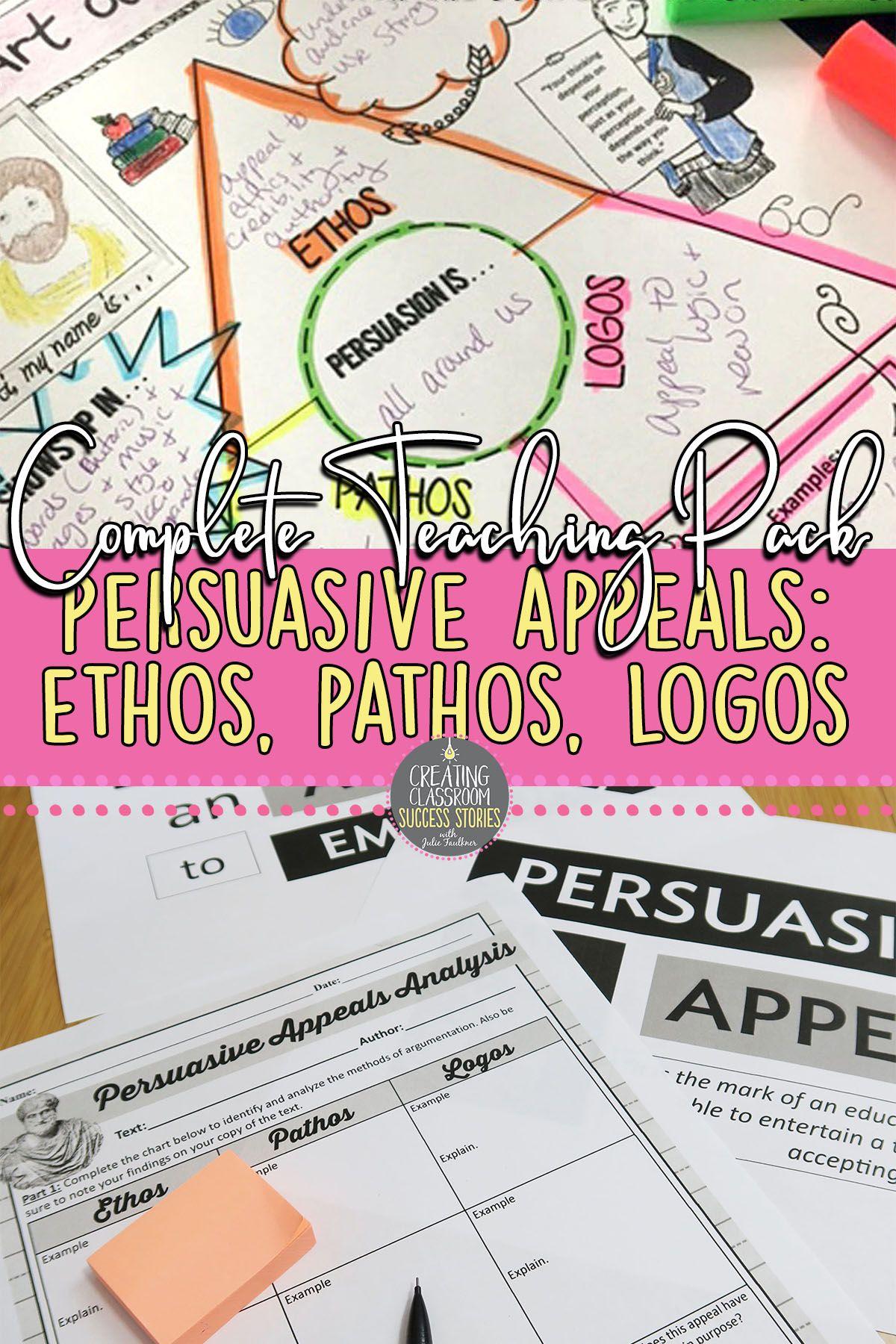 Ethos Pathos Logos Persuasive Rhetorical Appeals