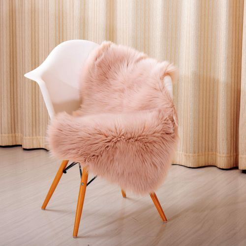 Beautiful Rug-Chair-Cover-Soft-Faux-Sheepskin-Sofa-Cover