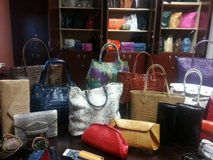 A Day In Purse Heaven With Our Client Eileen Kramer Exotic Skin Handbags Accessories