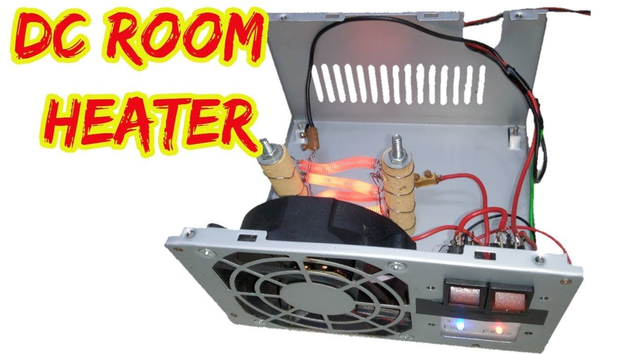 How To Make A Mini Room Heater With 12v Battery Simple Room In 2020 Room Heater Electronic Circuit Projects Circuit Projects