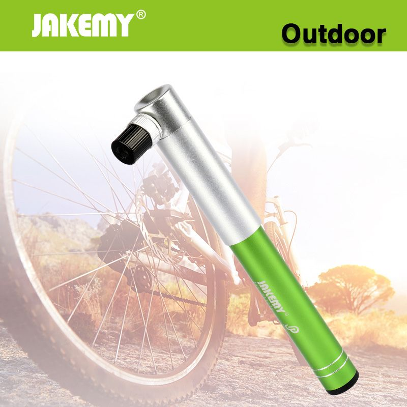 Check Price Jakemy Portable High Pressure Pump Aluminum Alloy Mini