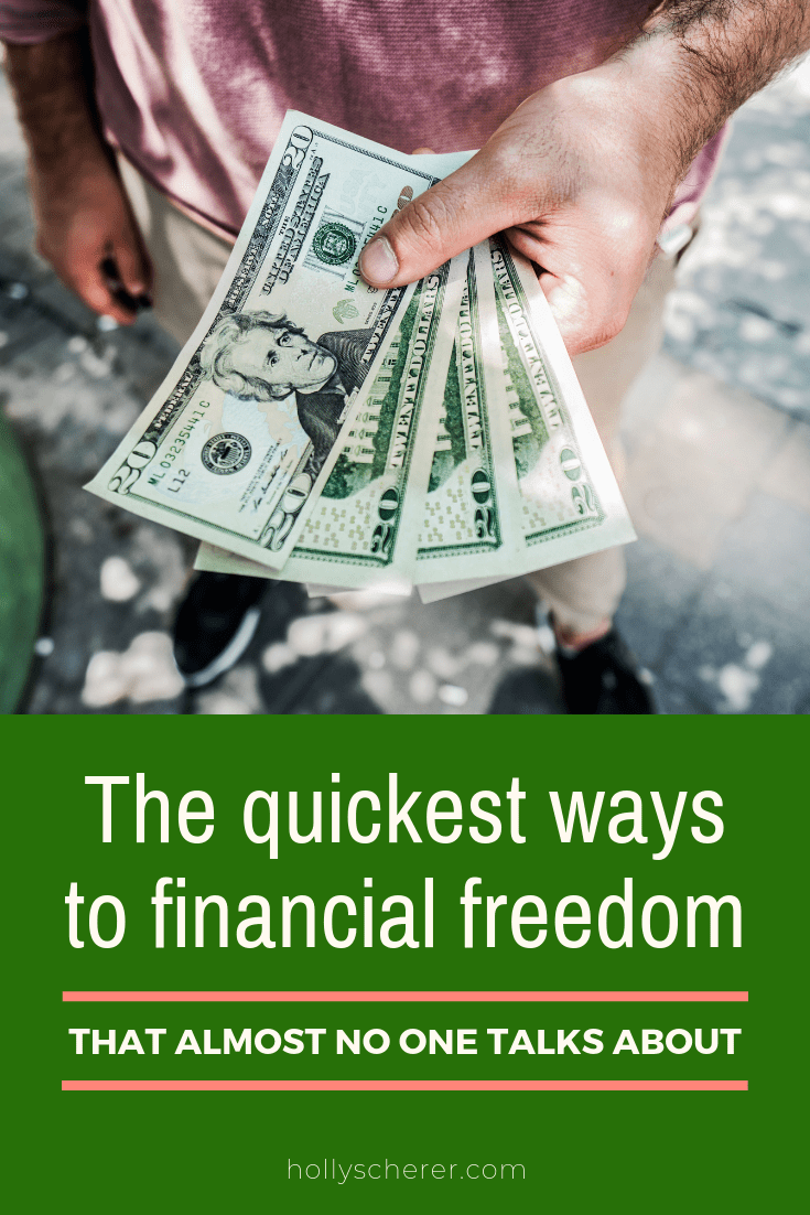 3 Unconventional Ways To Create Financial Freedom Holly Scherer Financial Freedom Fiat Money Financial
