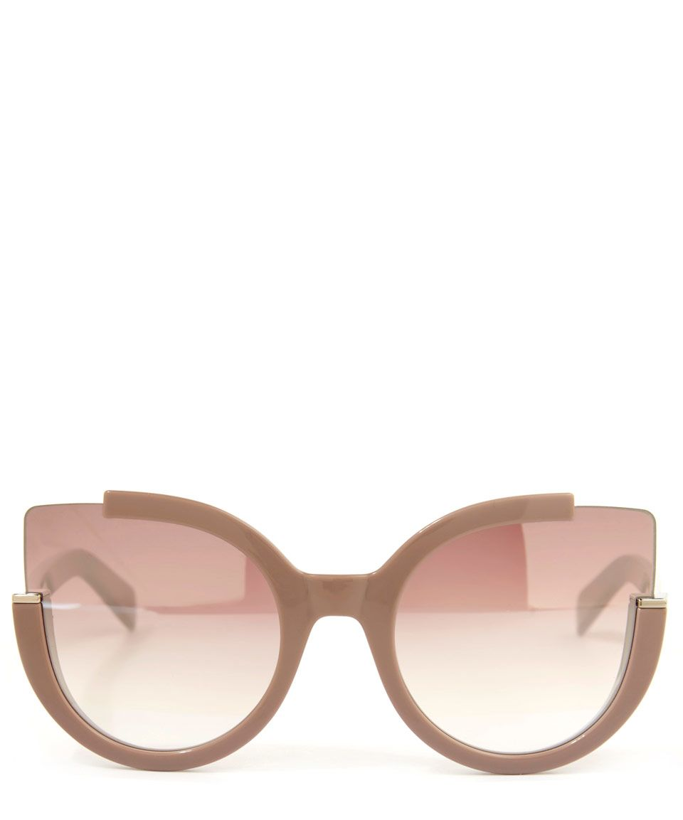 ebaf6e81fb Marc by marc jacobs Pink Cats Eye Half Frame Sunglasses in Pink