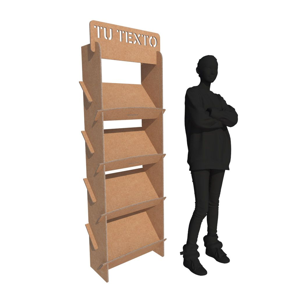 Revistero Y Portafolletos De Cart N Muebles De Cart N Cart N Y  # Muebles Sostenibles