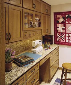 built in home office cabinets. Home Office Made With Stock Cabinetry | Custom-built Cabinets By Direct Discount Built In L