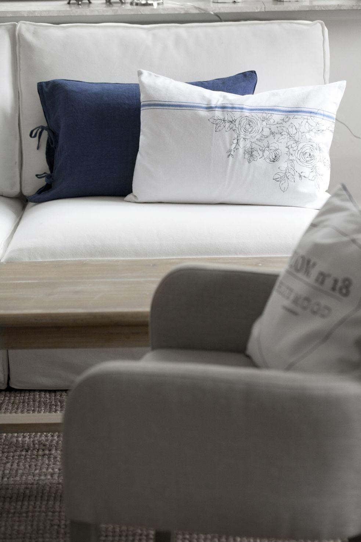 BLUE MOOD and BOLETTE cushions. Lene Bjerre, spring 2014.