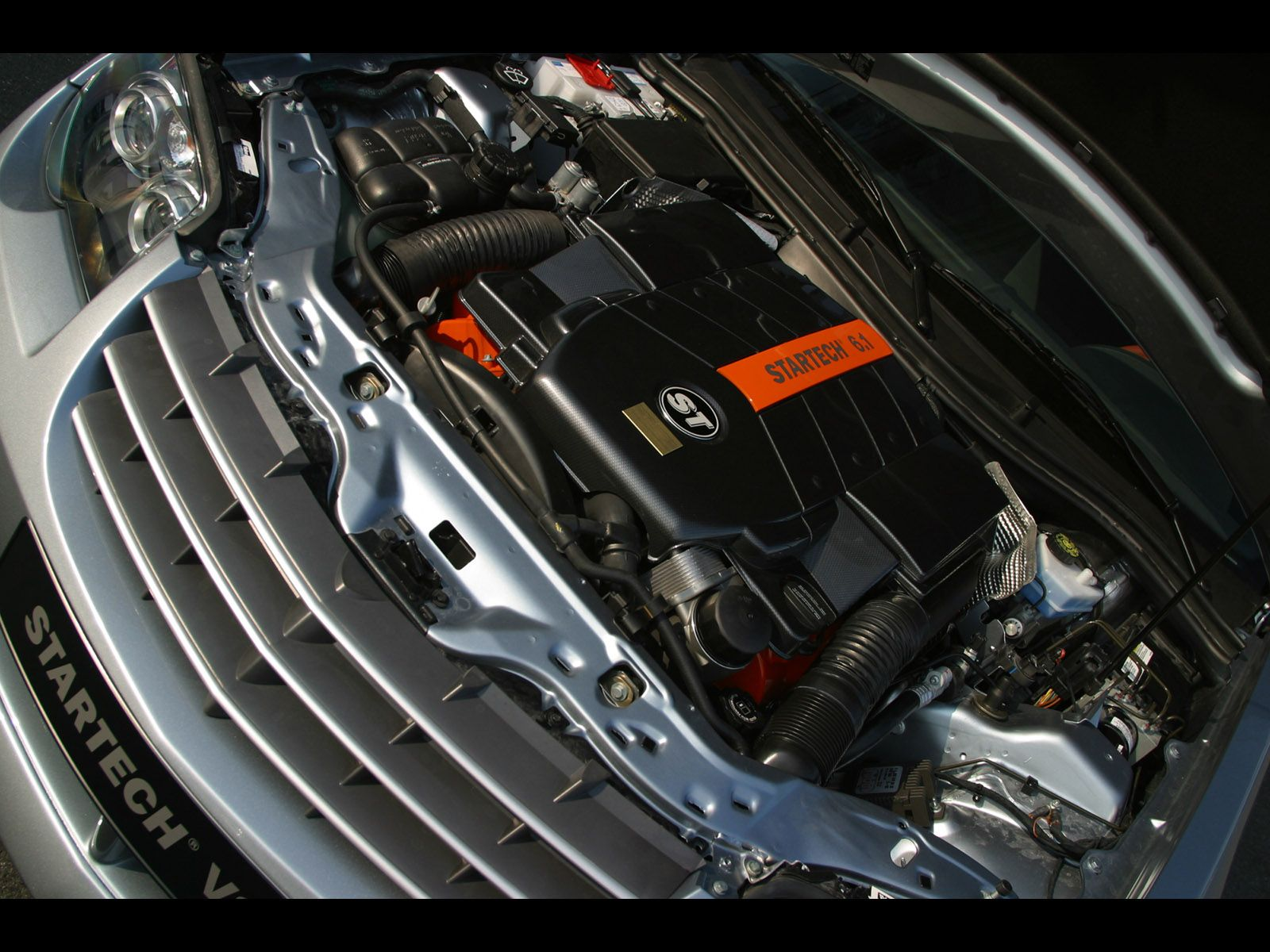 2005 Startech Chrysler Crossfire Coupe Engine Compartment Wiring Harness 1600x1200 Wallpaper