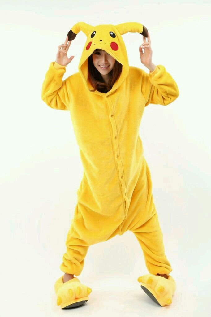 cdb95df82a Choose warmth this winter with a Pikachu onesie! When temperatures get low