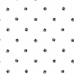 Dog Print Wallpaper wallpaper - dog lover - paw print no border [wal0090g_nb] - $0.00